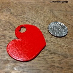 heart-keychain-a.JPG Download free STL file Heart - Keychain • 3D printer model, 3dprintingspirits