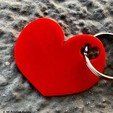 Download free 3D printer designs Heart - Keychain, 3dprintingspirits