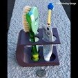 Download free 3D print files BATHROOM ARRANGER (TOOTHBRUSH HOLDER) VERSION3, 3dprintingspirits