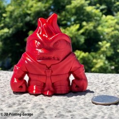 Download free STL file Anger (Easy print no support) • Object to 3D print, 3dprintingspirits
