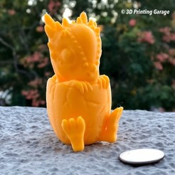 Download free 3D printing templates Stygimoloch (Easy print no support), 3dprintingspirits