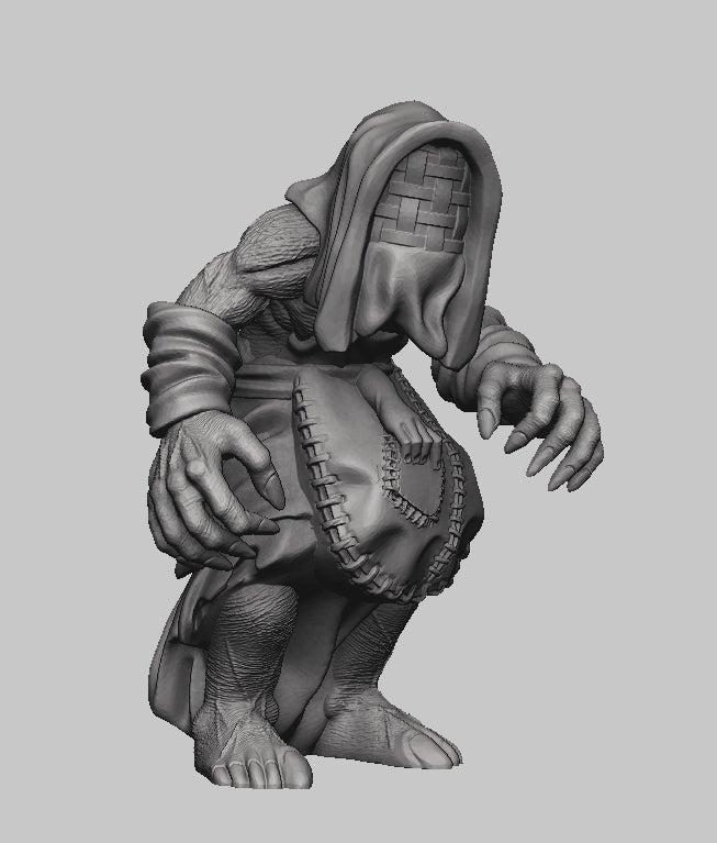 ce2ac083cc348c78c150ac3f6ed90d53_display_large.jpg Download free STL file Witcher 3 Crone 2 • 3D printer design, DarkRealms