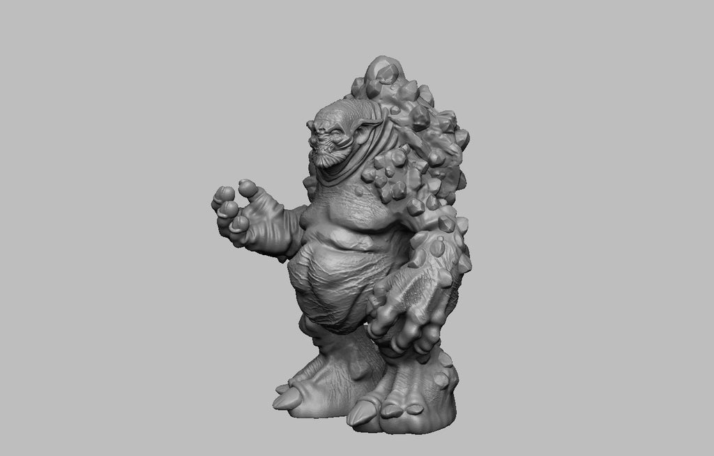 253d9d3b94822afc32356a9c12313d36_display_large.jpg Download free STL file The Witcher 3 - Troll • Model to 3D print, DarkRealms