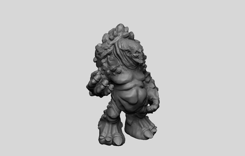 2ac238e82e33492986ed5452260e545b_display_large.jpg Download free STL file The Witcher 3 - Troll • Model to 3D print, DarkRealms
