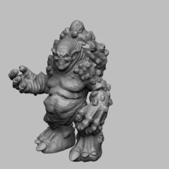 Download free STL file The Witcher 3 - Troll • Model to 3D print, DarkRealms