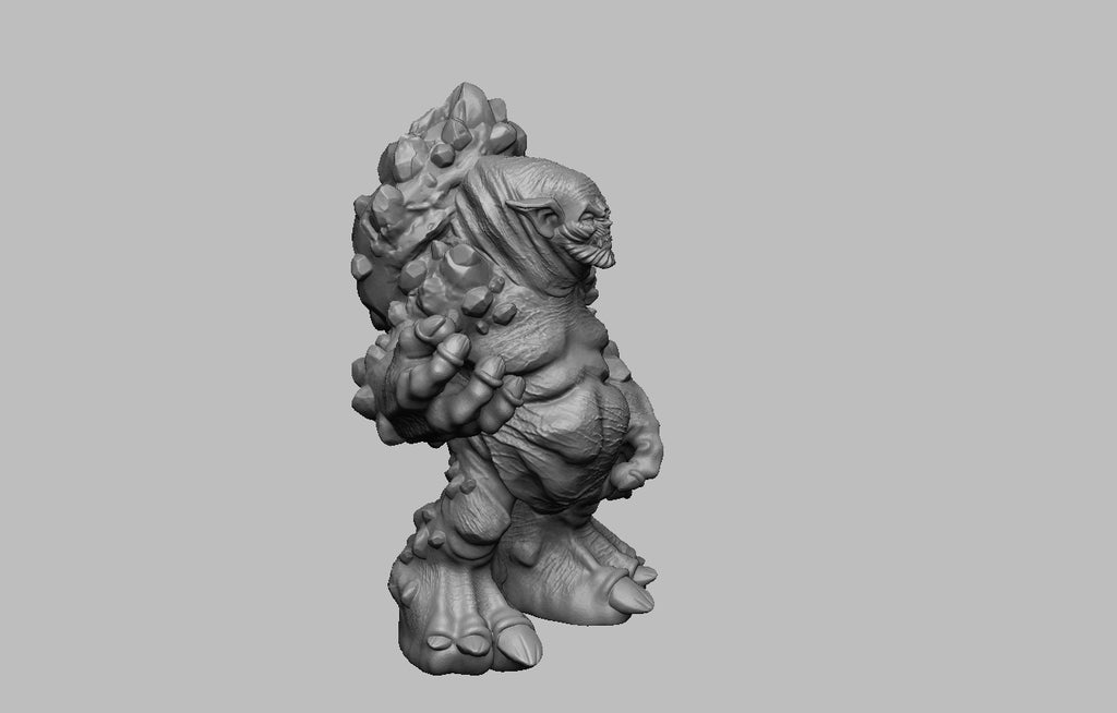 a1b1c89dbdd547decccb8b17195a21a0_display_large.jpg Download free STL file The Witcher 3 - Troll • Model to 3D print, DarkRealms