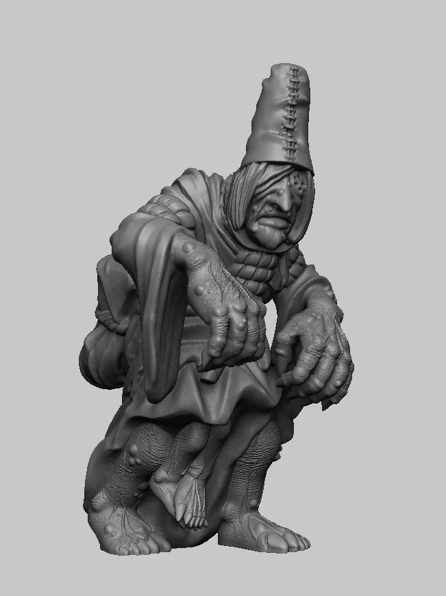 fe667ec05bf77f37bdad5e3733994b93_display_large.jpg Download free STL file Witcher 3 Crone 3 • 3D printing design, DarkRealms