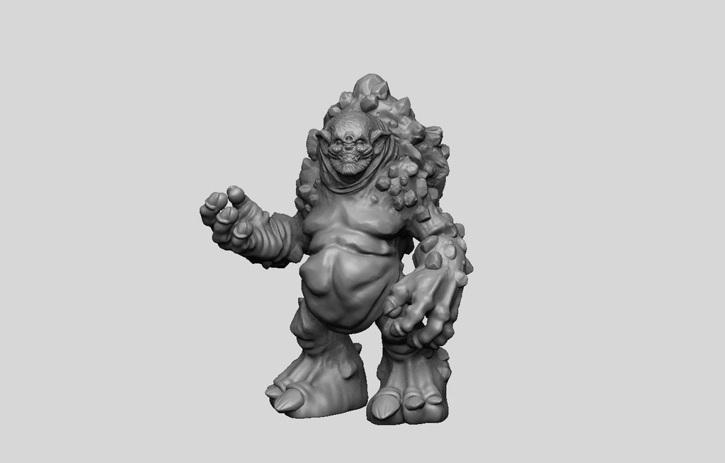 9ec42227d9df914a9951156cb7ca0d61_display_large.jpg Download free STL file The Witcher 3 - Troll • Model to 3D print, DarkRealms