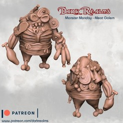 Descargar modelos 3D gratis Monster Monday - Cabra de carne, DarkRealms
