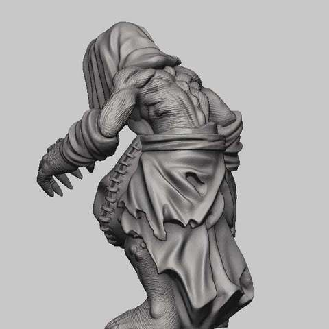 80fc06d9ce61cfabc40db789d5b7ba49_display_large.jpg Download free STL file Witcher 3 Crone 2 • 3D printer design, DarkRealms