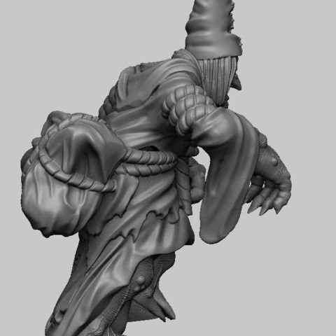 8076b71bf872aa38e1ad3180fc39d3a9_display_large.jpg Download free STL file Witcher 3 Crone 3 • 3D printing design, DarkRealms
