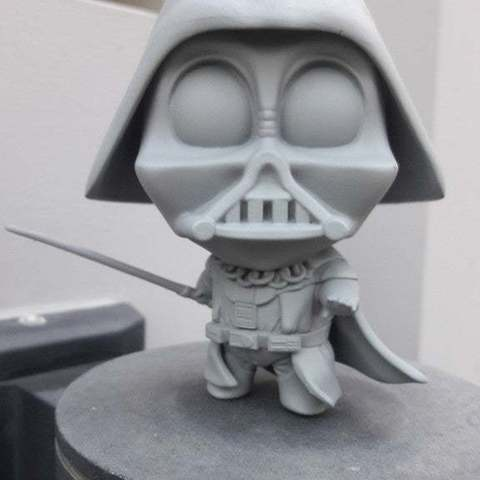 Download free STL Chibi Vader, DarkRealms