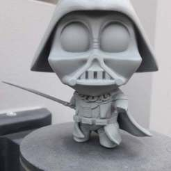 Download free STL Chibi Vader, DarkRealms