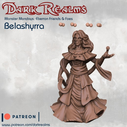 Download free 3D printer model Monster Mondays: Belashyrra, DarkRealms