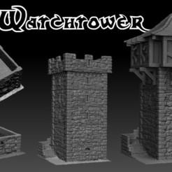 Descargar STL Paisaje Medieval - La Atalaya, DarkRealms