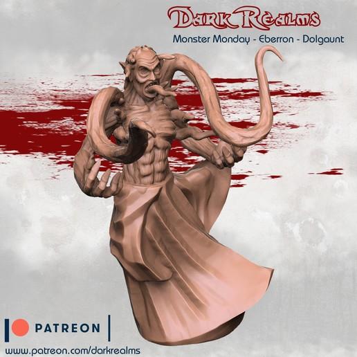 Download free 3D printer designs Monster Monday - Eberron - Dolgaunt, DarkRealms