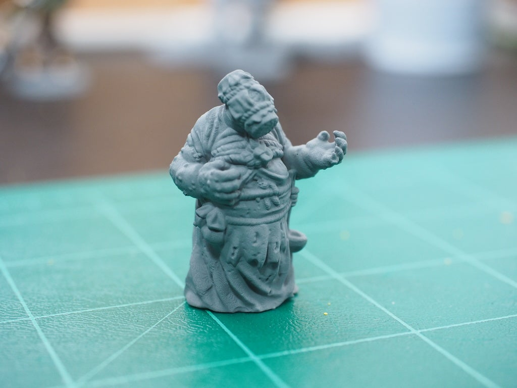 13a140a6e2ceb67f2652d4c937342315_display_large.JPG Download free STL file Witcher 3 Crone 1 • 3D print design, DarkRealms