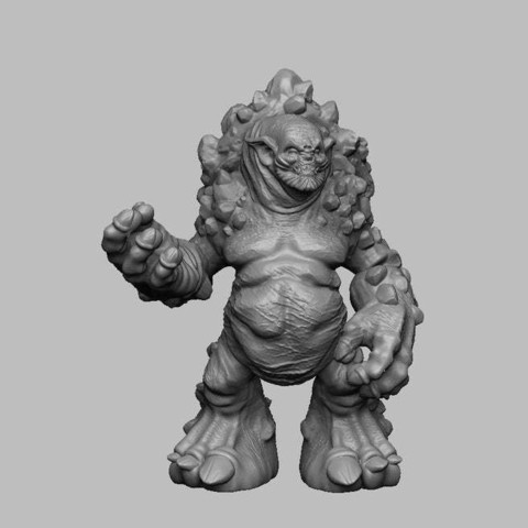450798182e12efbccaae716cdf3ddd50_display_large.jpg Download free STL file The Witcher 3 - Troll • Model to 3D print, DarkRealms
