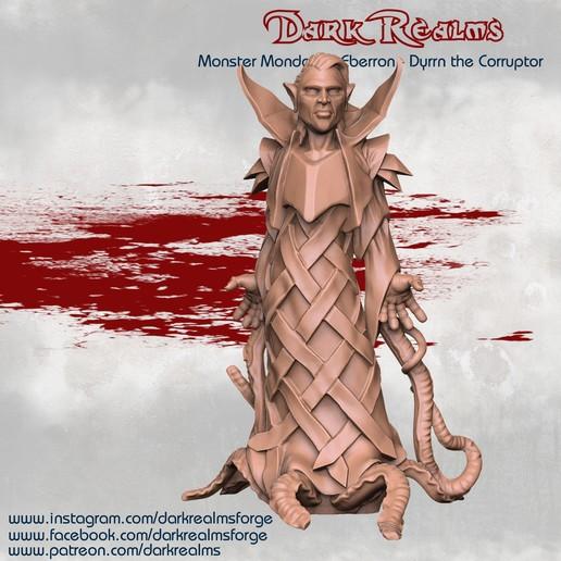 Télécharger STL gratuit Monster Monday - Eberron - Dyrrn, DarkRealms