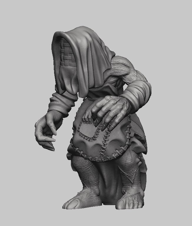 d796aee5592b527472f00e06914f103e_display_large.jpg Download free STL file Witcher 3 Crone 2 • 3D printer design, DarkRealms