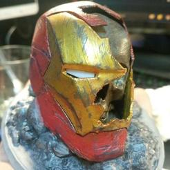 Download STL files iron man skull, albertnotariotrujillo