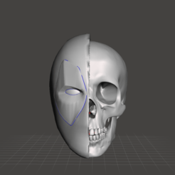 Download 3D printing designs deadpool skull, albertnotariotrujillo