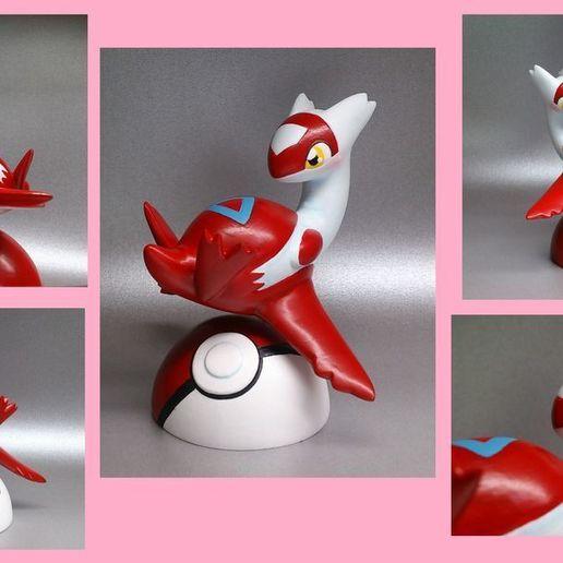 latias_figure_by_unkosman_dc84fiu-fullview.jpg Télécharger fichier STL gratuit Pokémon se tient • Objet pour impression 3D, albertnotariotrujillo