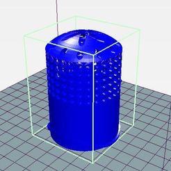 Impresiones 3D gratis Recipiente para plantación hidropónica, linoresende