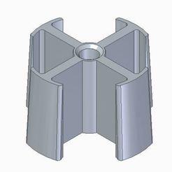 AdaptadorConeLinha.JPG Download free STL file Adaptador para cone de linha • 3D printer design, linoresende