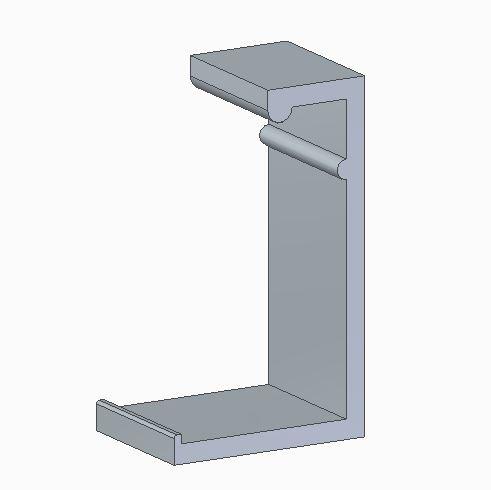 ClipCartucho.JPG Download free STL file Clip para cartucho HP664 • 3D printing object, linoresende