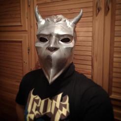 Descargar archivos STL Máscara completa Ghoul sin nombre fantasma bc, Jonatan_S