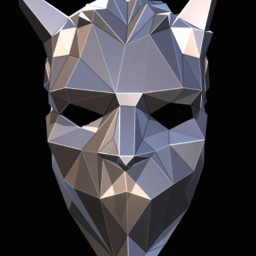 Download 3D printing files Nameless Ghoul Low Poly mini ghost bc, Jonatan_S