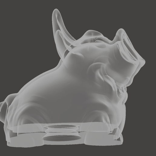 Bild_2.PNG Download free STL file Piggy bank with thicker bottom and screw cap • 3D printing model, Cyberspace38