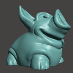 Descargar Modelos 3D para imprimir gratis Hucha con fondo más grueso y tapa a rosca, Cyberspace38
