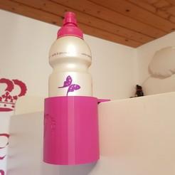 20190905_135046.jpg Download free STL file Bottle holder unicorn IKEA bed Stuva • Template to 3D print, Cyberspace38