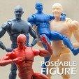 Download 3D model Articulated Poseable Male Figure, RikkTheGaijin