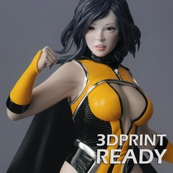 Download 3D printer designs Female Superhero, RikkTheGaijin