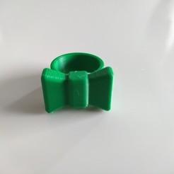 IMG_20200518_204746.jpg Télécharger fichier STL gratuit bague noeud papillon • Objet imprimable en 3D, chassotce