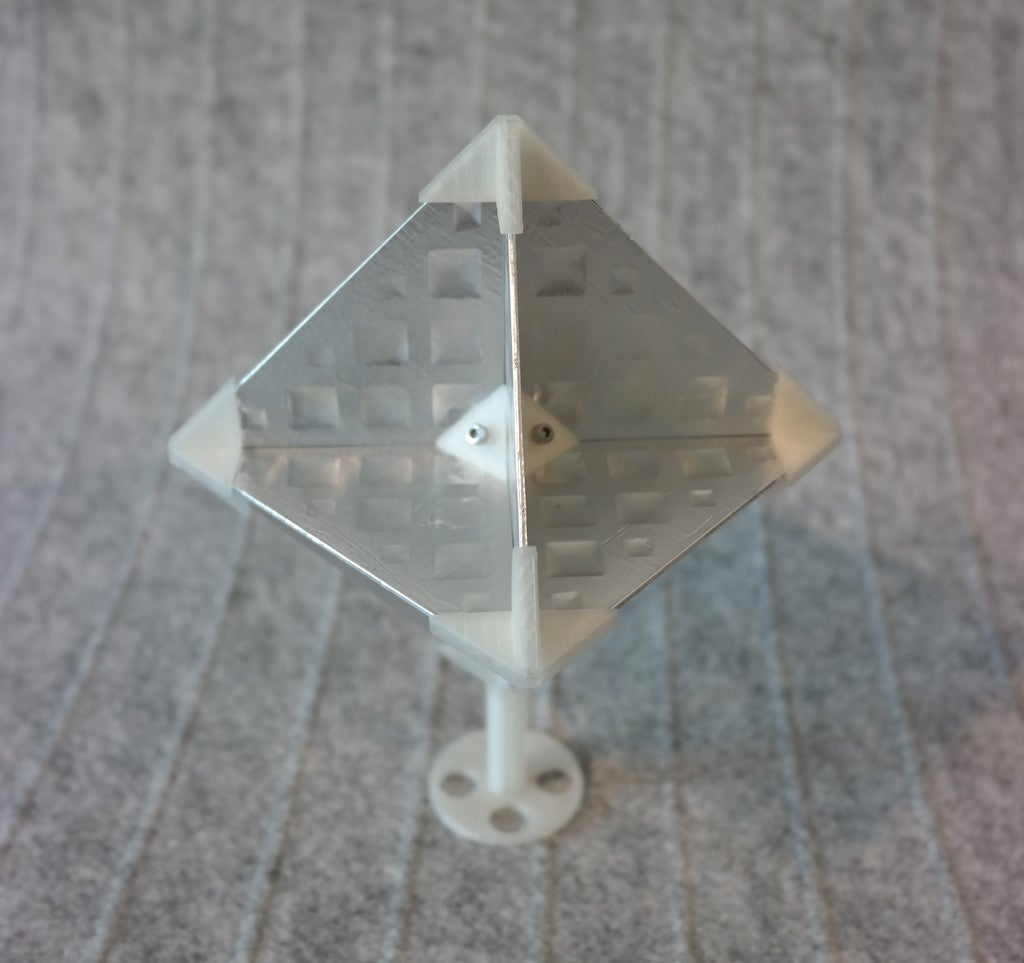 bf7aaa2e449b97407d7b69ef0496f19a_display_large.JPG Download free STL file Octahedral Radar Reflector (Radar Target Enhancer) • Design to 3D print, whoopsie