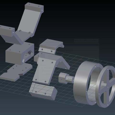2e59b5e6f0da28644777d84e51a19f5a_display_large.jpg Download free STL file Two-wheeled Inverted Pendulum Robot • 3D printing model, whoopsie