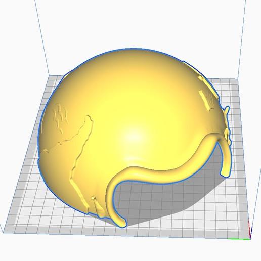 Hemisphere_Sud_Preview.jpg Télécharger fichier STL gratuit Petite poubelle pour pollueurs avertis • Modèle imprimable en 3D, FrenchTouch
