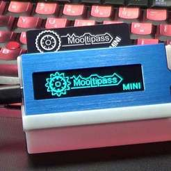 Download free 3D printer files Mooltipass Mini Stand, Xylitol