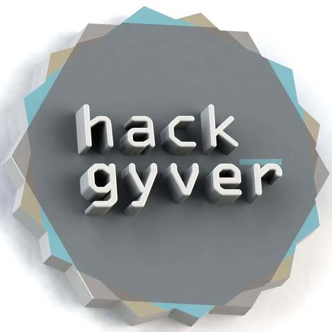 Download free 3D printer templates Hackgyver logo, Xylitol