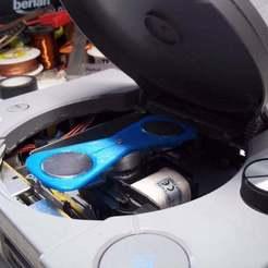 Télécharger fichier 3D gratuit Outil agitateur magnétique pour arbre moteur 4⌀, Xylitol