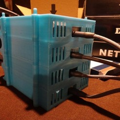 2020-01-03_03-45-39.jpg Download free STL file LaCie Mobile Drive 5 TB tower rack • 3D print design, Xylitol