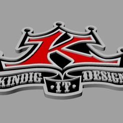 Download 3D printer designs Kindig Logo, elox