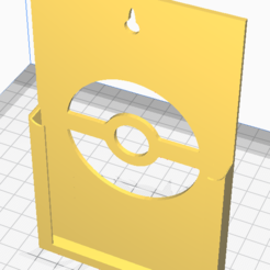 design 1 preview.PNG Download STL file Pokemon Wall Mount PSA Stands • 3D printing object, P8nt