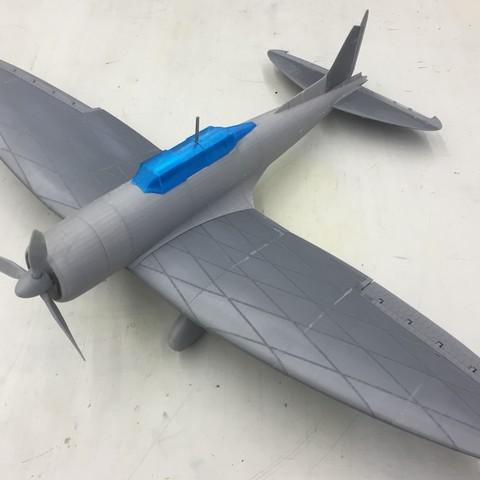 Download free 3D printer model Aichi D3A2, WOODEN_BOAT
