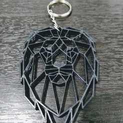 Télécharger fichier impression 3D Porte-clés géométrique León, samilena9215