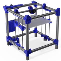 3d printer.PNG Télécharger fichier STL Imprimante 3D CUBE 400x400 • Objet pour impression 3D, 3DPrinterDESIGN